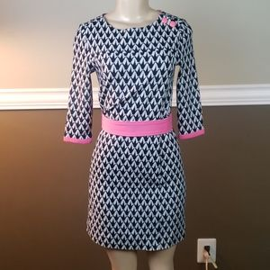 Lilly pulitzer sweater dress euc size xs